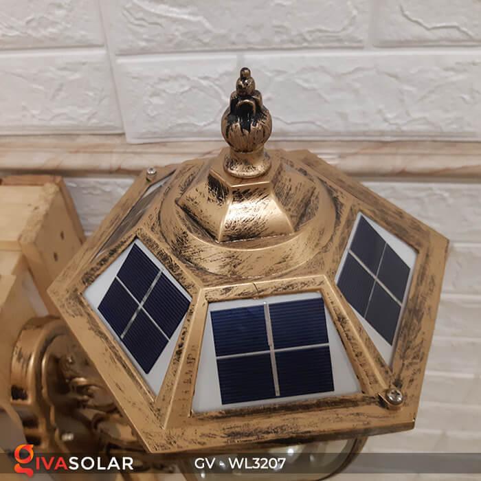 Đèn gắn tường năng lượng mặt trời GV-WL3207 7