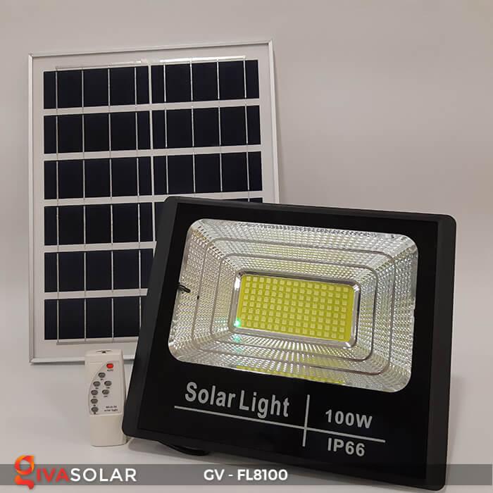 Đèn pha siêu sáng năng lượng mặt trời GV-FL8100 2