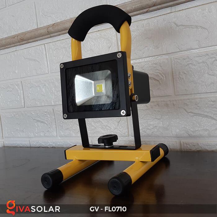 Đèn pha sạc mini 10W GV-FL0710 1