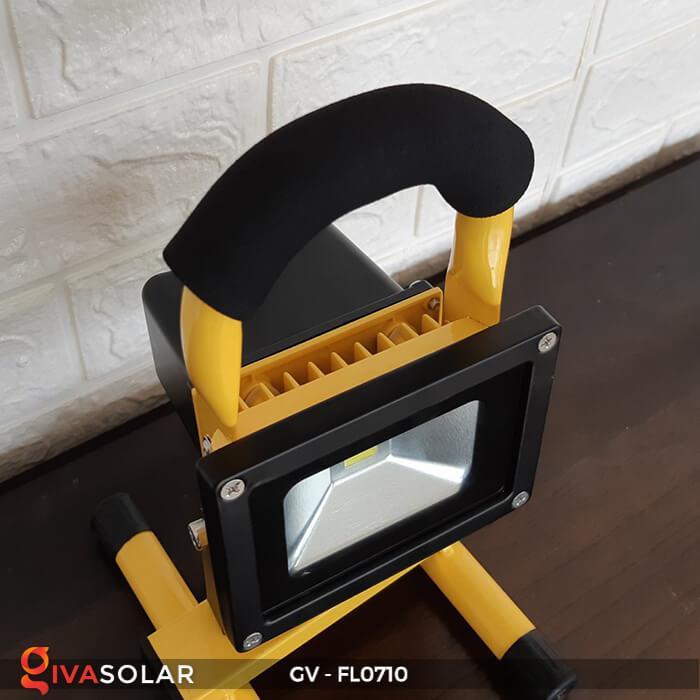 Đèn pha sạc mini 10W GV-FL0710 10