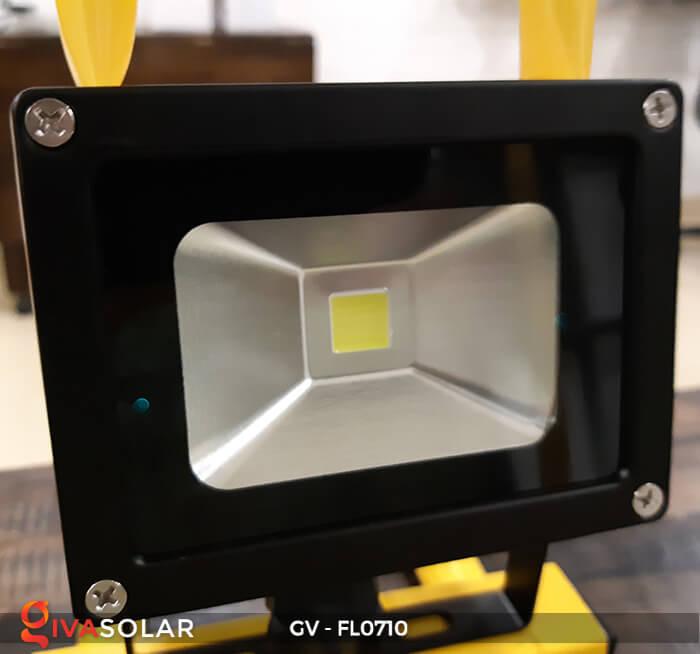 Đèn pha sạc mini 10W GV-FL0710 11