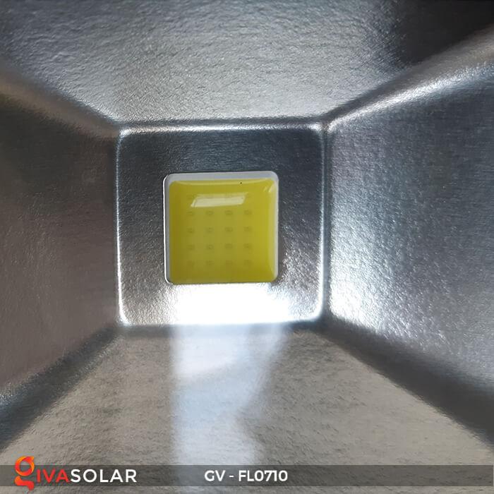 Đèn pha sạc mini 10W GV-FL0710 12