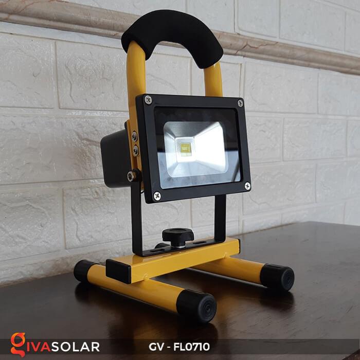 Đèn pha sạc mini 10W GV-FL0710 3