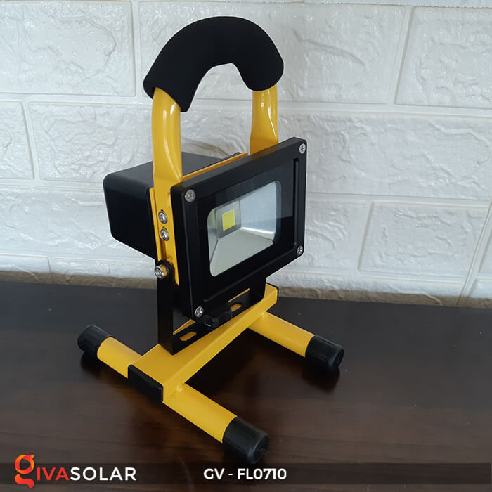 Đèn pha sạc mini 10W GV-FL0710 4