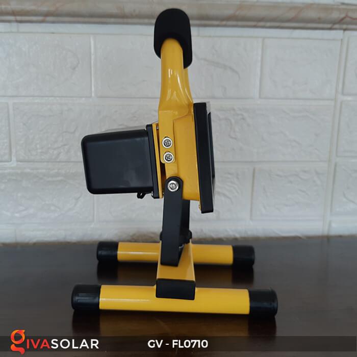 Đèn pha sạc mini 10W GV-FL0710 5