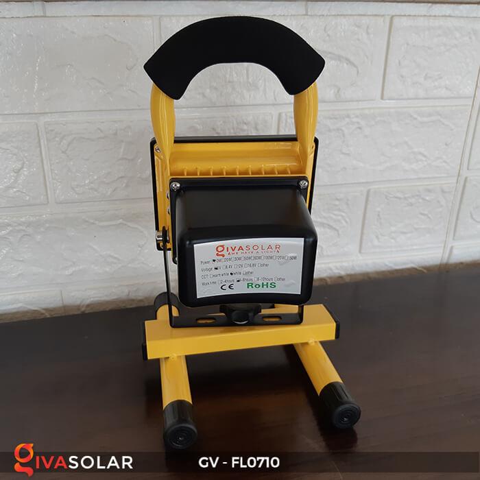 Đèn pha sạc mini 10W GV-FL0710 6