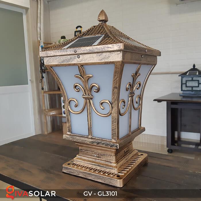 Đèn trụ cổng năng lượng mặt trời GV-GL3101 1