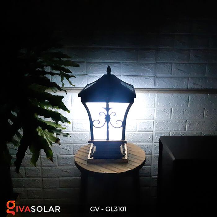 Đèn trụ cổng năng lượng mặt trời GV-GL3101 12