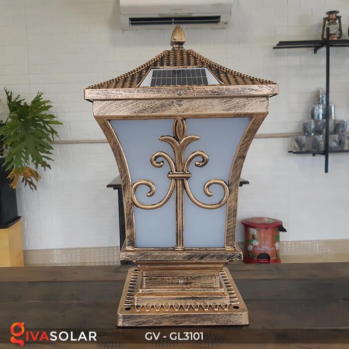 Đèn trụ cổng năng lượng mặt trời GV-GL3101 2