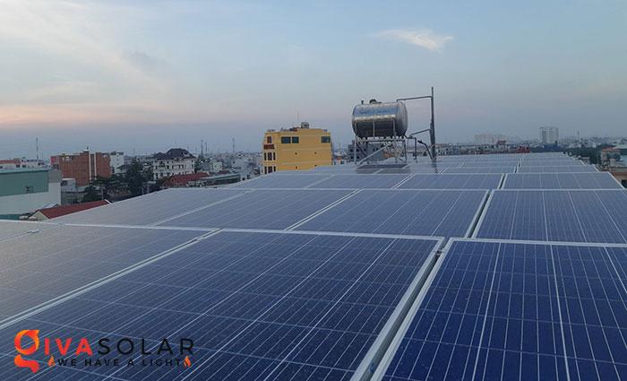 Lắp đặt hệ thống điện mặt trời hòa lưới 10KW cho công ty Gia Văn 1