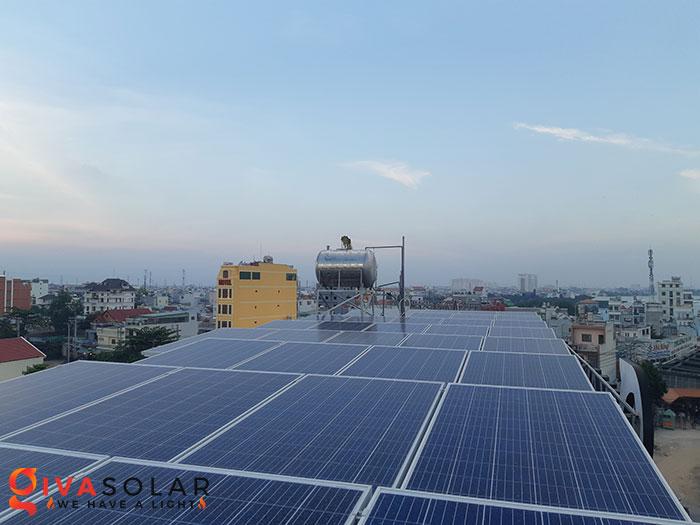 Lắp đặt hệ thống điện mặt trời hòa lưới 10KW cho công ty Gia Văn 2