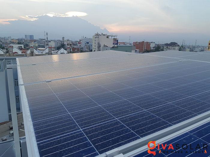 Lắp đặt hệ thống điện mặt trời hòa lưới 10KW cho công ty Gia Văn 3