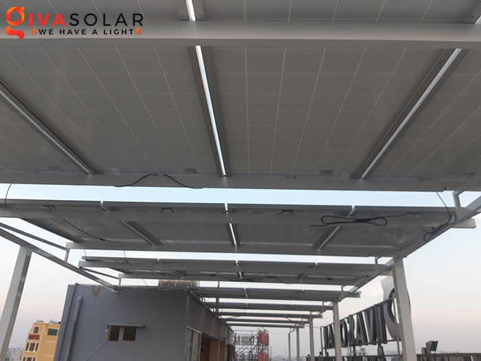 Lắp đặt hệ thống điện mặt trời hòa lưới 10KW cho công ty Gia Văn 4