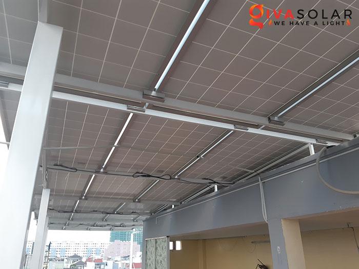 Lắp đặt hệ thống điện mặt trời hòa lưới 10KW cho công ty Gia Văn 6