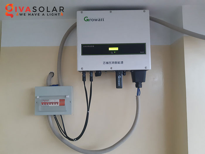 Lắp đặt hệ thống điện mặt trời hòa lưới 10KW cho công ty Gia Văn 8