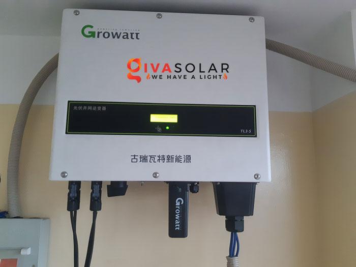 Lắp đặt hệ thống điện mặt trời hòa lưới 10KW cho công ty Gia Văn 9