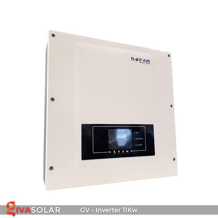 Inverter hòa lưới 11kW SOFARSOLAR 1KTL-X 1