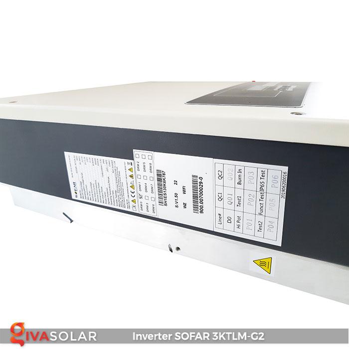 Inverter SOFARSOLAR 3KTLM-G2 3kw 4