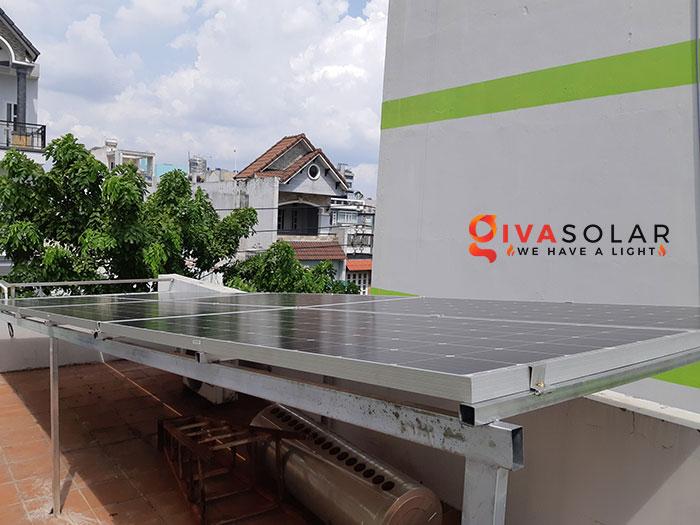 Hoàn thành lắp đặt hệ thống điện mặt trời 2KW tại Bình Tân 1