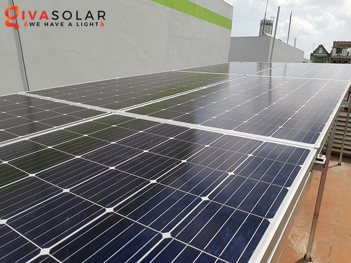 Hoàn thành lắp đặt hệ thống điện mặt trời 2KW tại Bình Tân 2