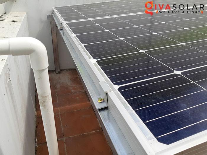 Hoàn thành lắp đặt hệ thống điện mặt trời 2KW tại Bình Tân 5