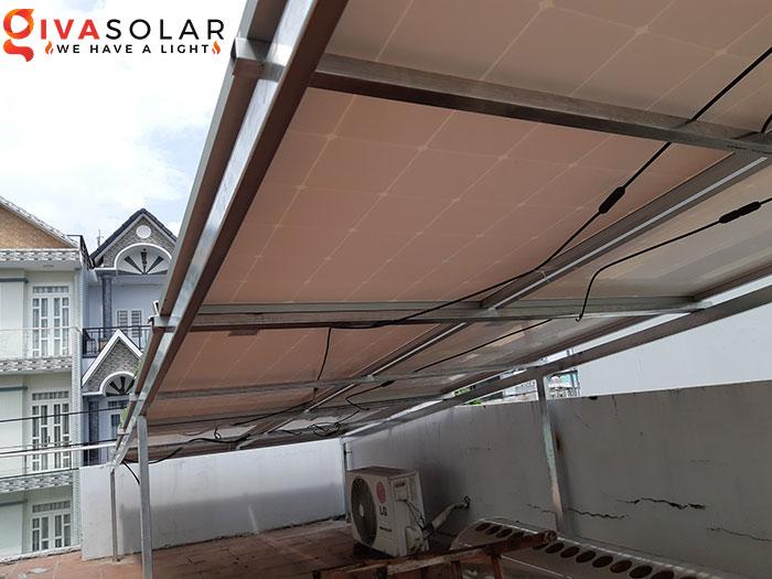 Hoàn thành lắp đặt hệ thống điện mặt trời 2KW tại Bình Tân 6