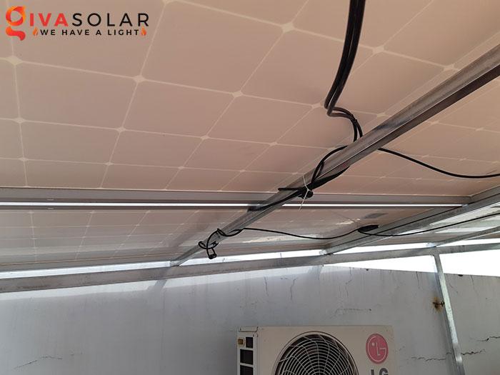 Hoàn thành lắp đặt hệ thống điện mặt trời 2KW tại Bình Tân 7