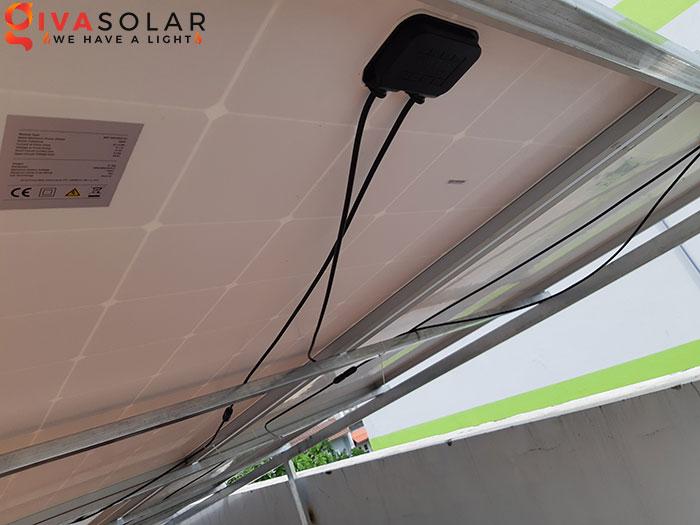 Hoàn thành lắp đặt hệ thống điện mặt trời 2KW tại Bình Tân 8