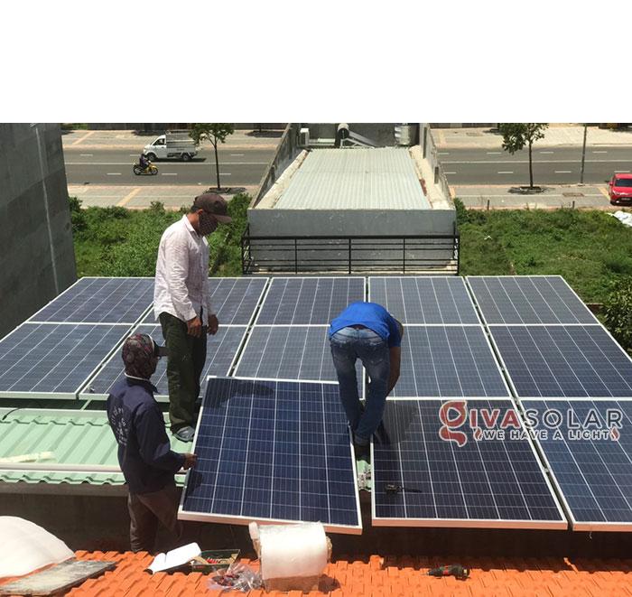 Lắp đặt hệ thống điện mặt trời hòa lưới 5KW tại Vũng Tàu 2