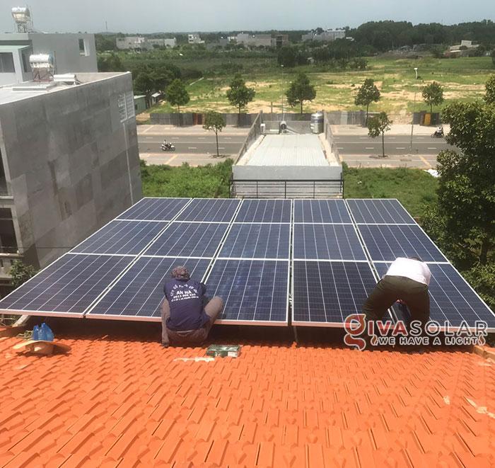 Lắp đặt hệ thống điện mặt trời hòa lưới 5KW tại Vũng Tàu 3
