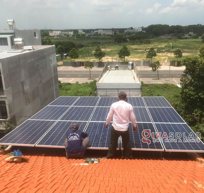 Lắp đặt hệ thống điện mặt trời hòa lưới 5KW tại Vũng Tàu 4