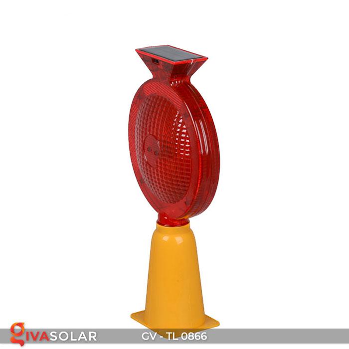 Đèn cảnh báo giao thông năng lượng mặt trời GV-TL0866 11