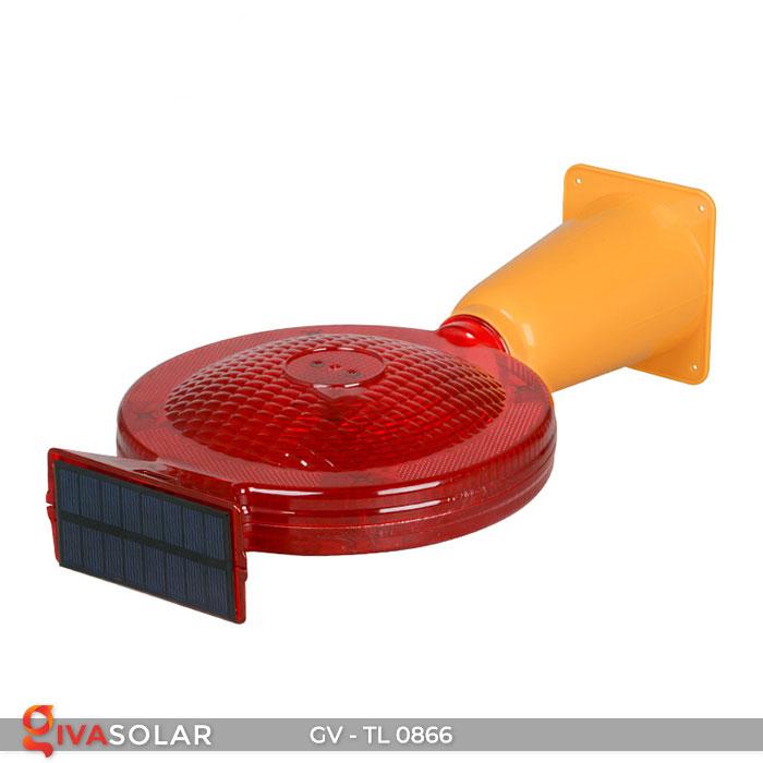 Đèn cảnh báo giao thông năng lượng mặt trời GV-TL0866 12