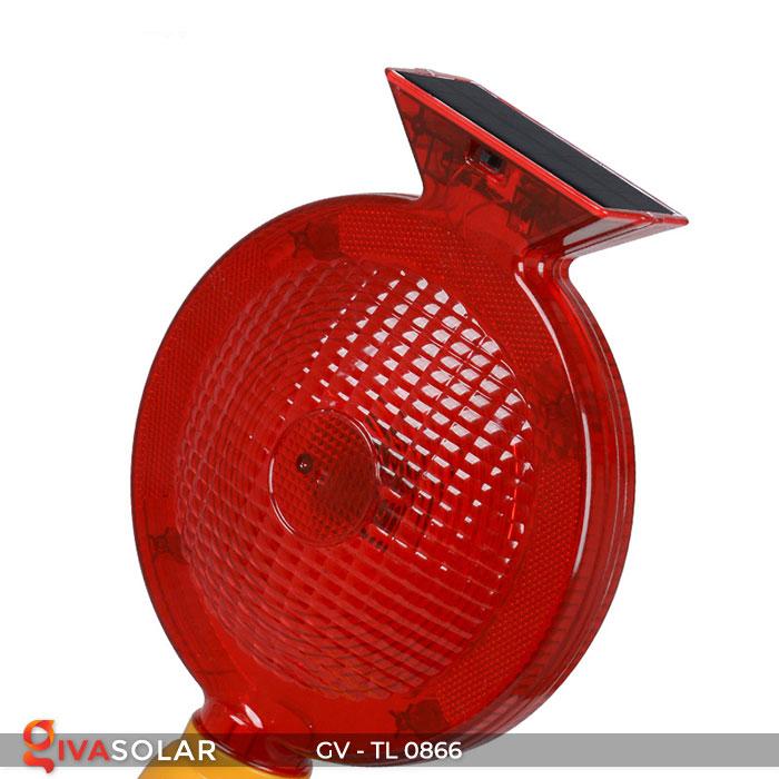 Đèn cảnh báo giao thông năng lượng mặt trời GV-TL0866 13