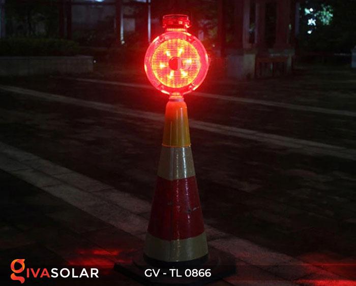 Đèn cảnh báo giao thông năng lượng mặt trời GV-TL0866 3