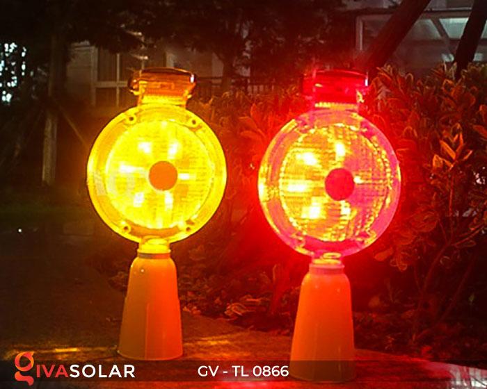 Đèn cảnh báo giao thông năng lượng mặt trời GV-TL0866 4