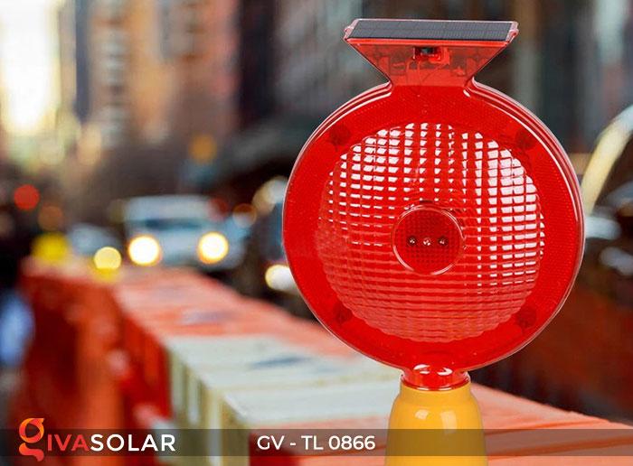 Đèn cảnh báo giao thông năng lượng mặt trời GV-TL0866 7