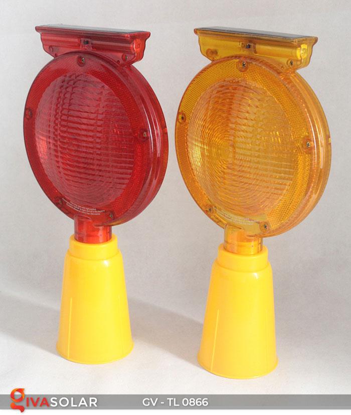 Đèn cảnh báo giao thông năng lượng mặt trời GV-TL0866 8