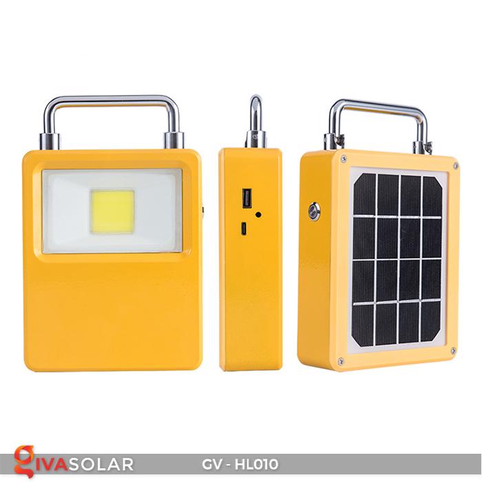 Đèn cắm trại mini năng lượng mặt trời GV-HL010 1