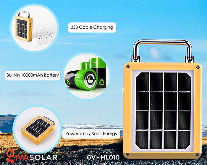 Đèn cắm trại mini năng lượng mặt trời GV-HL010 11