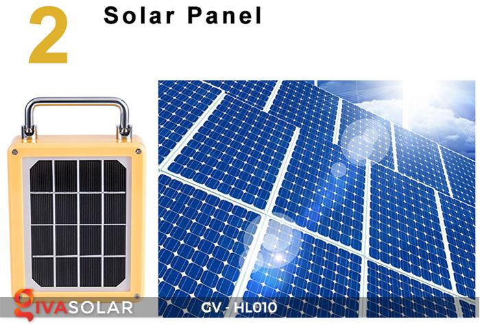 Đèn cắm trại mini năng lượng mặt trời GV-HL010 13
