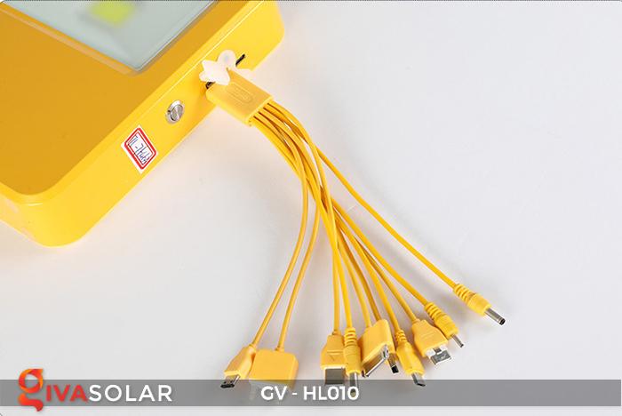 Đèn cắm trại mini năng lượng mặt trời GV-HL010 16