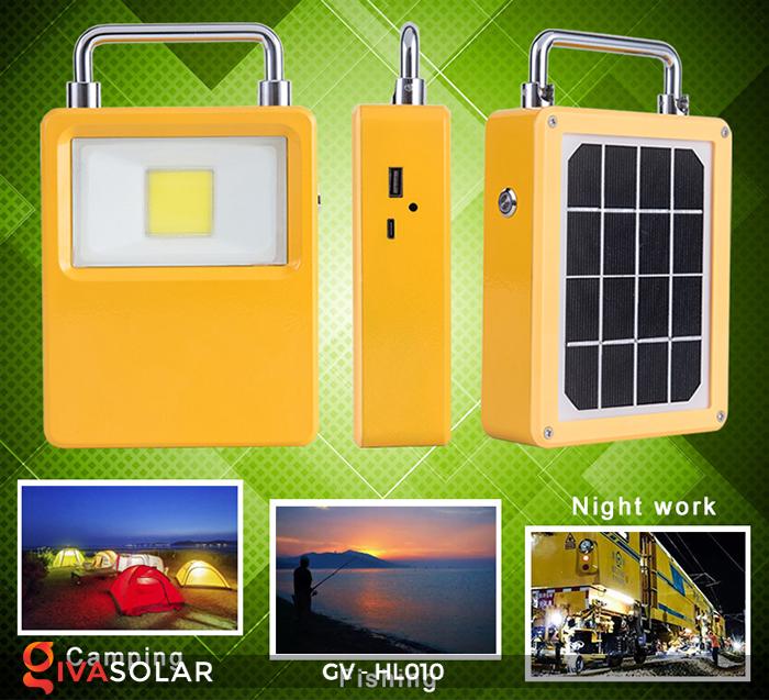 Đèn cắm trại mini năng lượng mặt trời GV-HL010 17