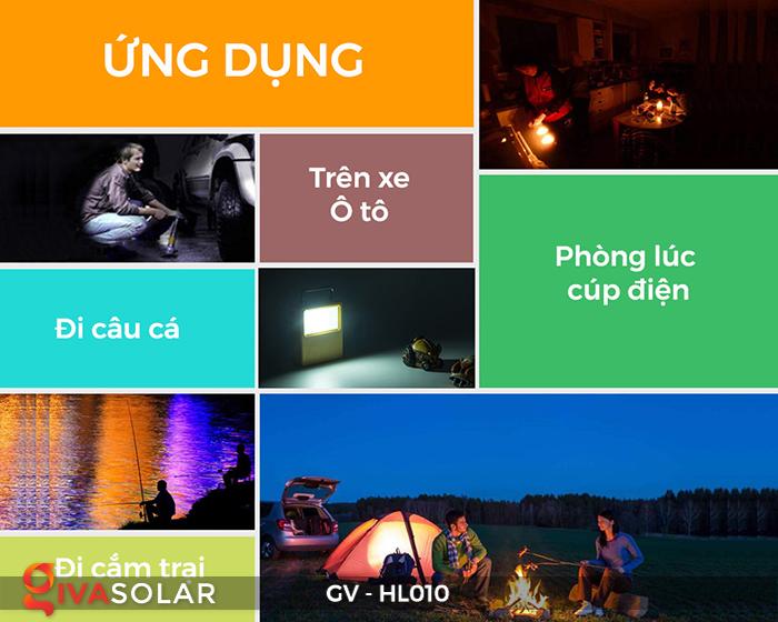 Đèn cắm trại mini năng lượng mặt trời GV-HL010 19