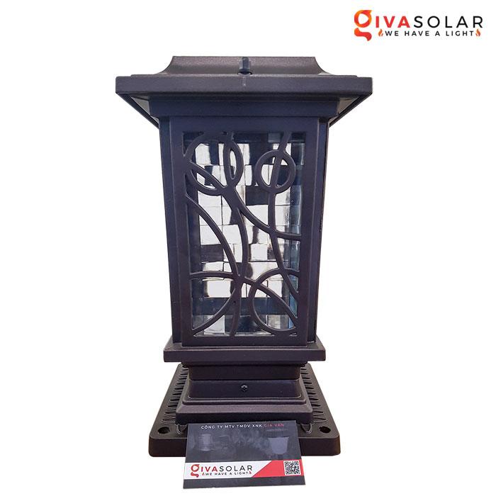 Đèn cổng năng lượng mặt trời cực đẹp GV-GL117