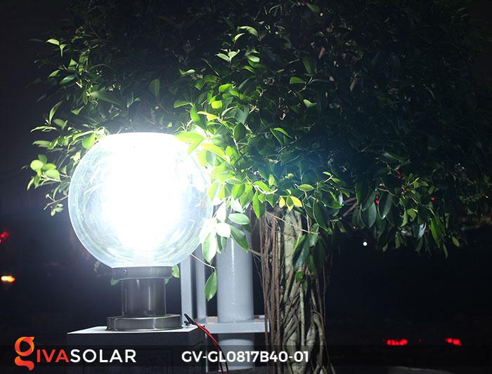 Đèn cổng năng lượng mặt trời GV-GL0817B40-01 2