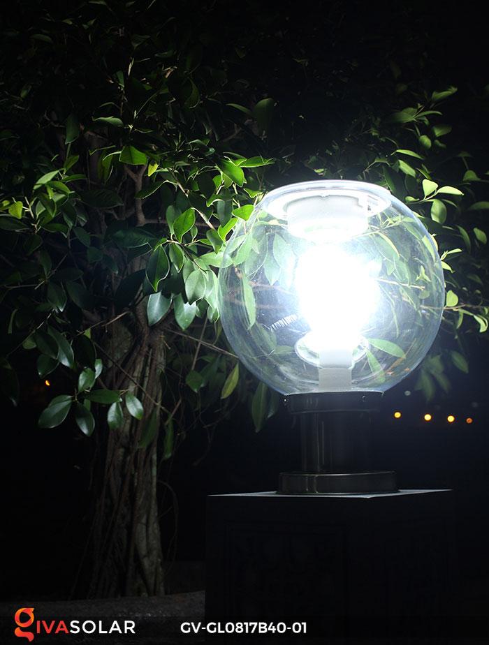 Đèn cổng năng lượng mặt trời GV-GL0817B40-01 3