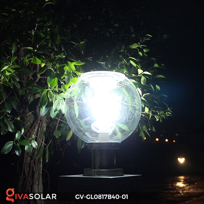 Đèn cổng năng lượng mặt trời GV-GL0817B40-01 4