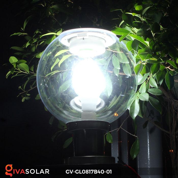 Đèn cổng năng lượng mặt trời GV-GL0817B40-01 5