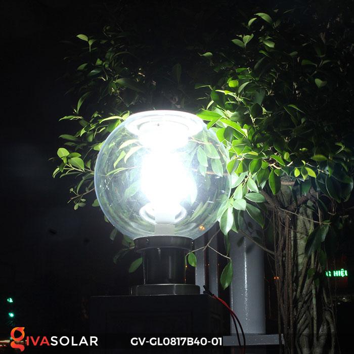 Đèn cổng năng lượng mặt trời GV-GL0817B40-01 6